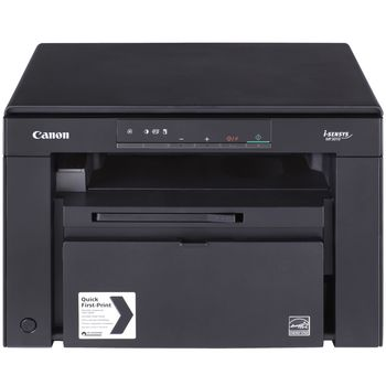 MFD Canon i-Sensys MF3010, Mono P/S/C, A4, 1200x600 dpi, 18 ppm, 64Mb, Paper Input (Standard) 250-sheet tray, USB 2.0, Cartridge 725 (1600 pages 5%), 8000pages