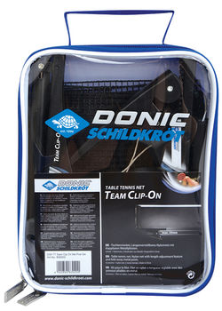 Сетка для настольного тенниса Donic Team Clip On 808302 (3897)