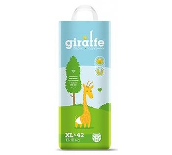 купить Подгузники  Lovular Giraffe XL (13-18 kg) 42 шт в Кишинёве