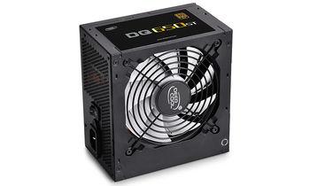 "PSU DEEPCOOL ""DQ650ST"", 650W, ATX 2.31, 80 PLUS® Gold, Active PFC, 120mm FDB Bearing fan with PWM, Double Layer EMI Filter, +12V (53A), 20+4 Pin, 1xEPS(4+4Pin), 5x SATA, 4xPCI-E(6+2pin), 3x Peripheral, MTBF120000Hours, Black"