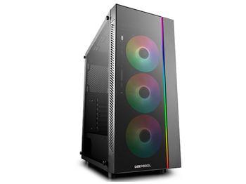 купить Case ATX Deepcool MATREXX 55 V3 ADD-RGB 3F, w/o PSU, 3x120mm,Tempered Glass, RGB, USB3.0, Black в Кишинёве