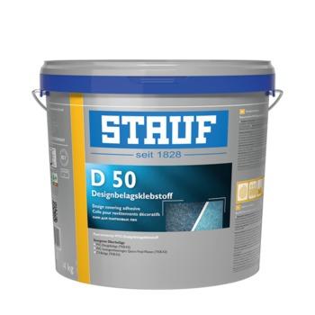 Армированный волокном клей для покрытий из ПВХ и дизайнерских покрытий STAUF D 50