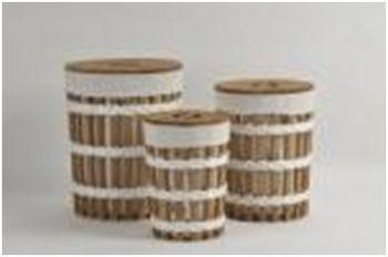 купить Корзина круглая из дерева 280x450 мм в Кишинёве