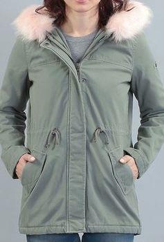 Куртка TOM TAILOR Хаки 1004101.XX.71