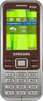Samsung C3322 Wine Red 2 SIM (DUOS)