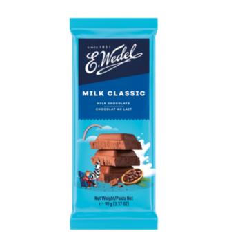 купить Молочный шоколад Wedel Classic, 90г в Кишинёве