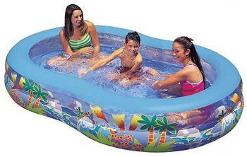 купить Intex Детский надувной бассейн 262 x 160 x 46 см в Кишинёве