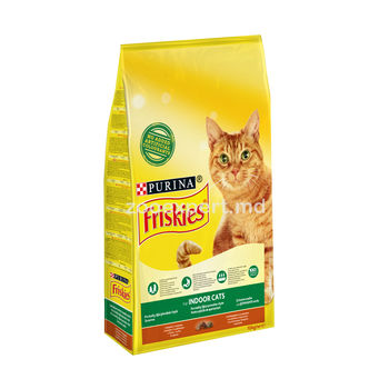 FRISKIES Indoor для кошек живущих в доме 10 kg