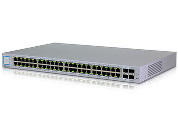 Ubiquiti UniFi Switch 48 (US-48), 48-Port Gigabit RJ45, 2 ports SFP, 2 ports SFP+, Non-Blocking Throughput: 70 Gbps, Switching Capacity: 140 Gbps, Rackmountable (retelistica switch/сетевой коммутатор)