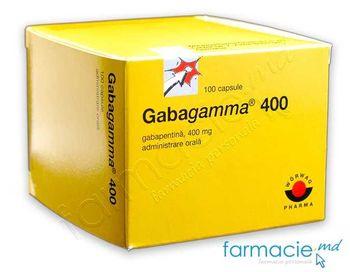 купить Габагамма 400мг капс. N100~ в Кишинёве