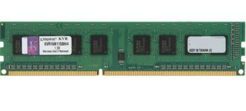 4GB DDR3-1600  Kingston ValueRam, PC12800, CL11, STD Height  30mm