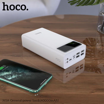 купить Внешний аккумулятор Hoco J65A General power bank(40000mAh) в Кишинёве