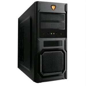 Magnum HX60RG-V  ATX Case, (450W, 24 pin, 2xSATA, 12cm fan), 2xUSB2.0 / HD Audio, Black