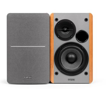 """Edifier EDF R1280T  Wood, 2.0/ 42W (2x21W) RMS,  Audio in: two analog (RCA), wooden, (4""""+1/2"""")"""