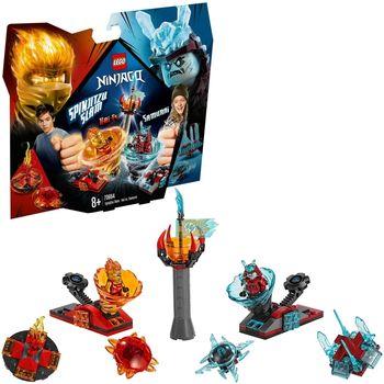 """LEGO Ninjago """"Бой мастеров кружитцу — Кай против Самурая"""", арт. 70684"""