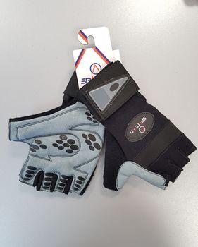 купить Перчатки для фитнеса Spartan Profi 252001 S grey-black (3627) в Кишинёве