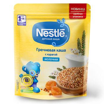 купить Каша гречка-курага с молоком Nestle, с 5 месяцев, 220г в Кишинёве