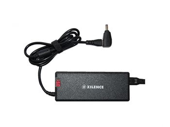 XILENCE XP-LP90.XM010, 90W Mini, Universal Notebook Power Adapter, 11 +1 (LENOVO) different tips, LED display (shows the actual output voltage), Input Voltage: AC 100-240V, Output Voltage: 15-24V, high efficiency over 87%, Black