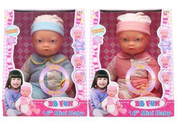 Кукла Новорожденный с мимикой