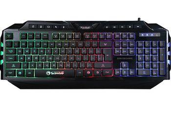 "MARVO ""K624"", Marvo Keyboard K624 Wired Gaming Rainbow LED"