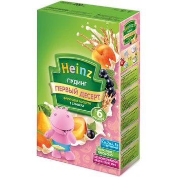 купить Heinz  пудинг фруктовое ассорти в сливках, с 6 мес. 200г в Кишинёве