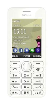 Nokia 206 2 SIM (DUAL) White