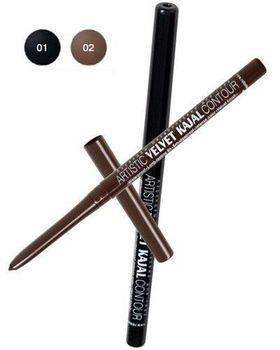 купить Механический карандаш для глаз Artistic Velvet Kajal Contour Relouis в Кишинёве