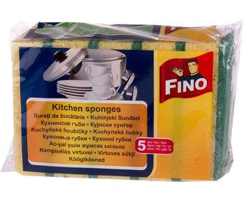 купить Fino Губки кухонные, 5 шт в Кишинёве