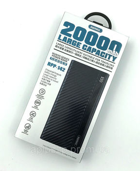 Remax Linon Pro Power Bank, 20000mAh Black