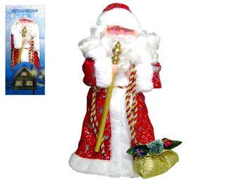 Дед Мороз музыкальный (поющий на русск языке)