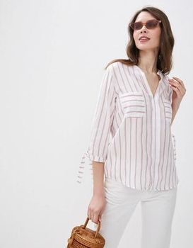 Блуза Jennyfer Белый в полоску jennyfer 51tuniz