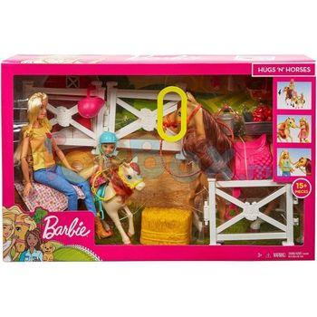 """Набор Barbie """"Верховая езда и объятия"""", код FXH15"""