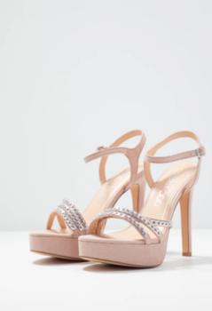 Босоножки EVEN&ODD Пастельный розовый sandals nude xcwby
