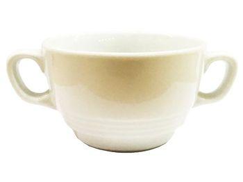 Чашка для супа 330ml с двумя ручками Tognana, белая