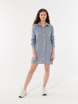купить Рубашка HOL21-KDD602 WOMEN-S SHIRT DARK BLUE в Кишинёве