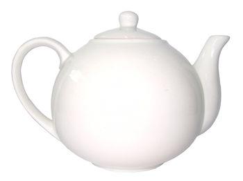 """купить Чайник заварочный """"классик"""" 1l керамический белый в Кишинёве"""