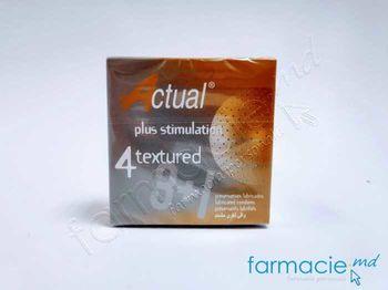 купить Prezervative Actual N4 Texturate (reliefate)(TVA8%) в Кишинёве