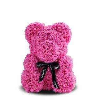 купить Медведь из розовых    роз 40 см в Кишинёве