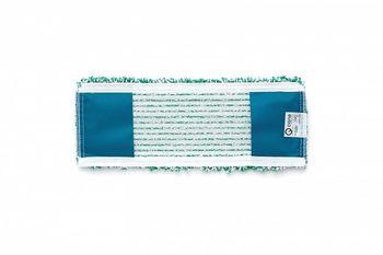 Bucle - Моп плоский микрофибра зеленый 40х15 см, карманы