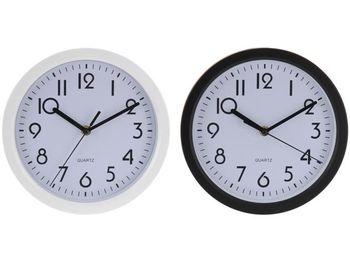 Часы настенные круглые D22.5cm, H4cm