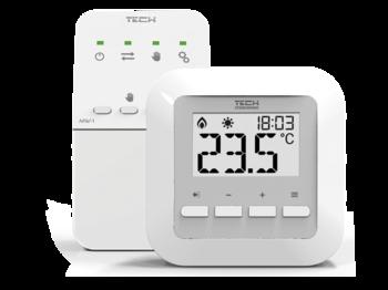купить Безпроводной комнатный терморегулятор ST-295 v2 в Кишинёве