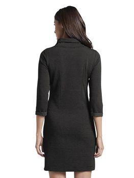 Платье TOM TAILOR Черный в крапинку 1015494 tom tailor