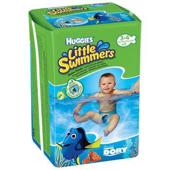 купить Подгузников для плавания Huggies Little Swimmers 3-4 (7-15 kg), 12 шт. в Кишинёве