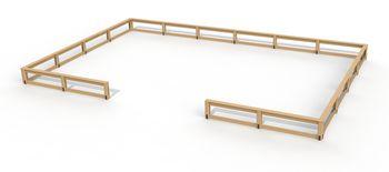 купить Забор-скамья PTP 1025 в Кишинёве