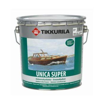 Tikkurila Лак Unica Super Полуматовый 2.7л