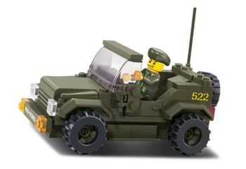 Sluban Конструктор LAND FORCES II PROWL CAR (115 деталей)