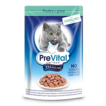 cumpără Pre Vital Premium pentru pisici sterilizate cu păsări de curte în sos în Chișinău