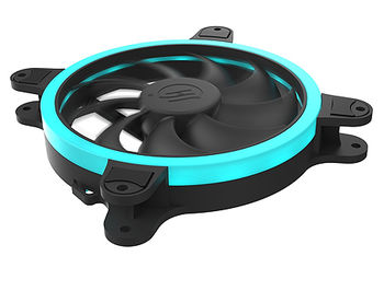 Case/CPU FAN SilentiumPC Corona HP RGB 140, 18 bright RGB LEDs, 140x140x25 mm, 3 pin + 4 pin (RGB), 1200rpm, Airflow 45 CFM