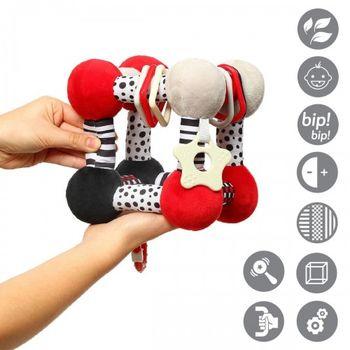 купить Обучающая игрушка Babyono TINY YOGA CUBE- C MORE в Кишинёве