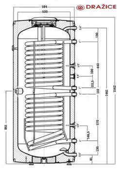 cumpără Boiler Drazice OKC NTRR 250 în Chișinău